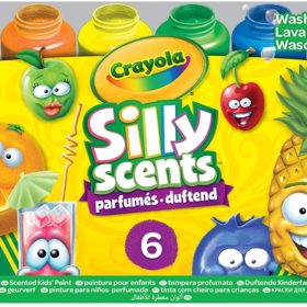 CRAYOLA WASH SILLY SCENTS PAINTS