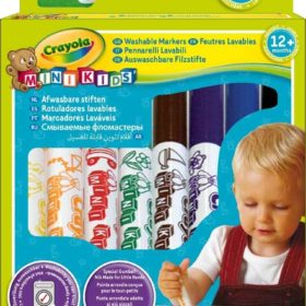 CRAYOLA 8 FIRST MARKERS