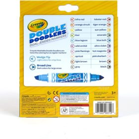CRAYOLA DOUBLE DOODLE MARKERS