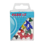 Parrot Giant Push Pins(Boxed 15 Assorted)