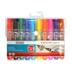Parrot Whiteboard Markers (10 Markers, Bullet Tip)