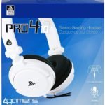 4 GAMERS PR04-10 GAMING HEADSET WHITE (PS4)