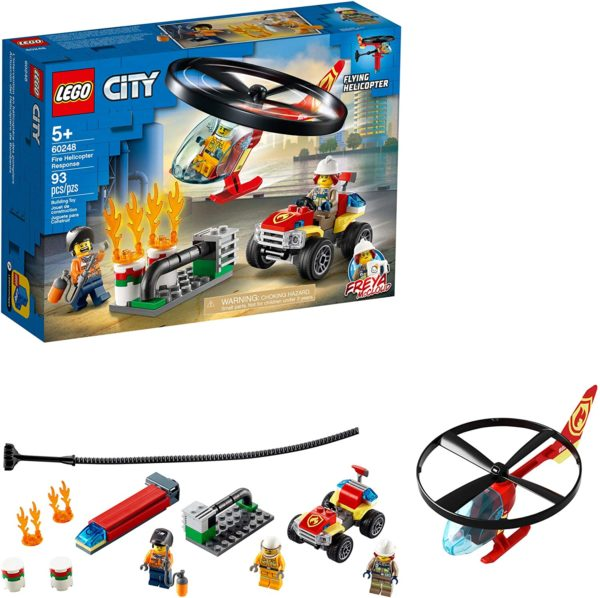 LEGO® CITY POLICE® Fire Helicopter Response 60248
