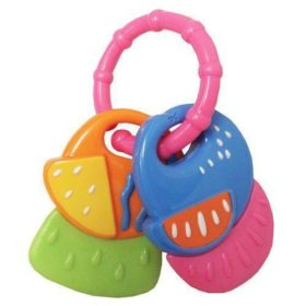 SOFT BEGINNINGS TAG ALONG FUNKEY-FRUITS TEETHER RING