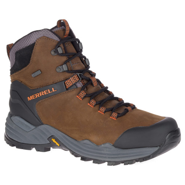 MERRELL - PHASERBOUND 2 TALL WP DARK EARTH SHOE - 48571