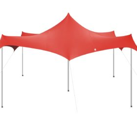Eazio Stretch Tent Gazebo - Red - 4.5m*4.5m