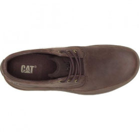CATERPILLAR - FUSED TRI COFFEE BEANED FULL GRAIN LEATHER - P724796