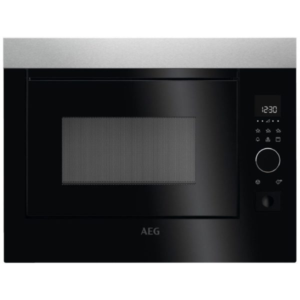 AEG MBE2658D-M 37L Stainless Steel Built In Microwave With Grill