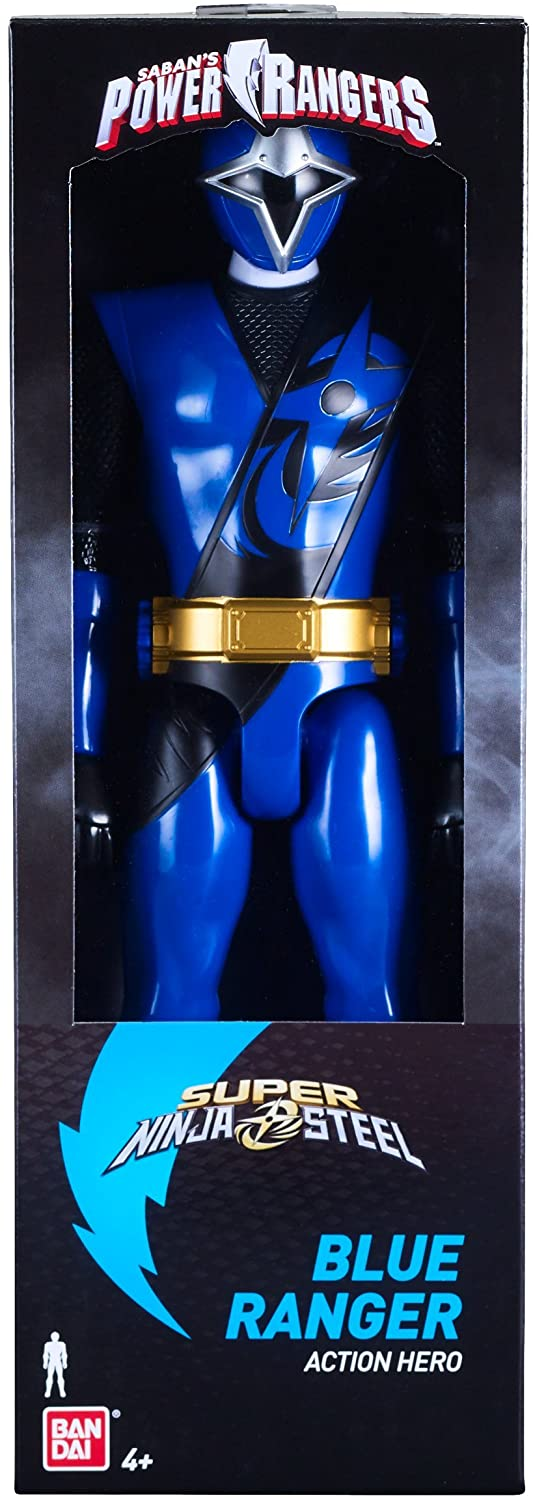 HASBRO® POWER RANGERS - 12 IN ACTION FIGURE BLUE