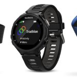 Garmin 010-01614-09 Forerunner 735XT Black And Grey Tri-Bundle