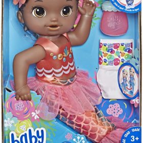 HASBRO® BABY ALIVE - SHIMMER N SPLASH MERMAID BLACK HAIR
