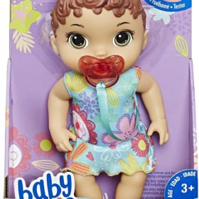 HASBRO® BABY ALIVE - BY LIL SOUNDS BROWN HAIR