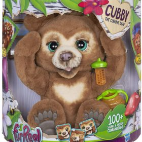 HASBRO® FURREAL FRIENDS - CUBBY THE CURIOUS BEAR