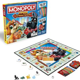 HASBRO® MONOPOLY JUNIOR ELECTRONIC BANKING (ENGLISH)