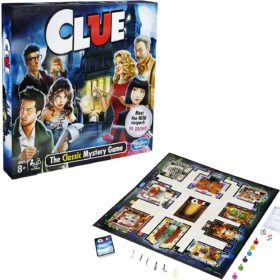 HASBRO® FAMILY GAMING - CLUE (ENGLISH)