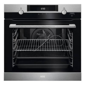 AEG BPK556220M 600mm Stainless Steel Steam Bake Electric Oven