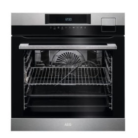 AEG BSK792220M 600mm Stainless Steel Eye Level SousVide & Steam Oven