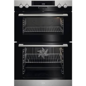 AEG DCK431110M 600mm Stainless Steel Built In Double Oven