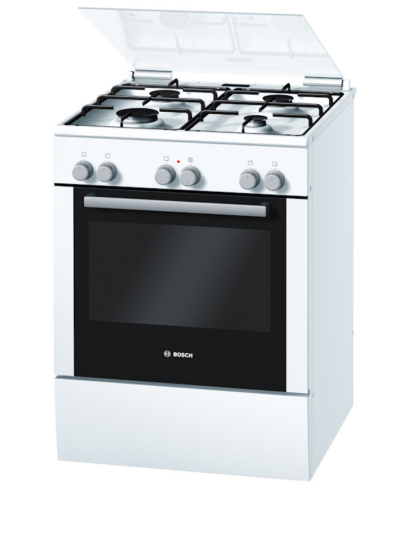 Bosch HGD524321Z White Freestanding Gas/Electric Oven