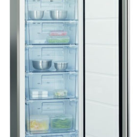 AEG A62710GNX1 320L Stainless Steel Upright Full Freezer