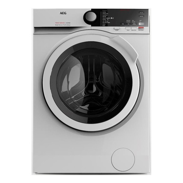 AEG LWX7E8622S 8/5KG Silver Front Loader Washer Dryer Combo